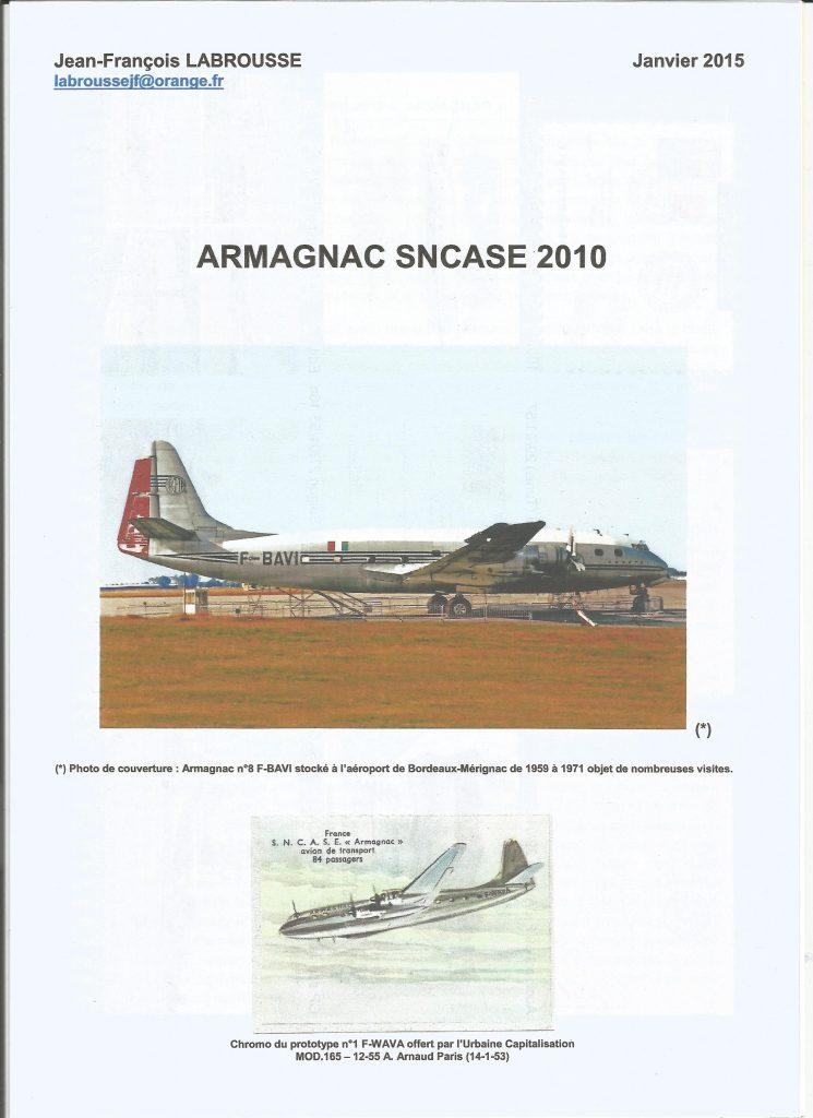 Page de couverture ARMAGNAC